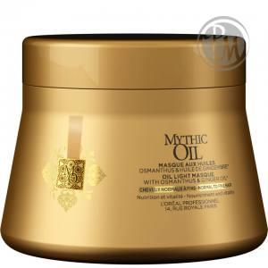 Loreal mythic oil маска для нормальных и тонких волос 200мл ж