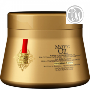 Loreal mythic oil маска для плотных волос 200мл