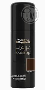 Loreal hair touch up консилер для волос brown коричневый 75мл