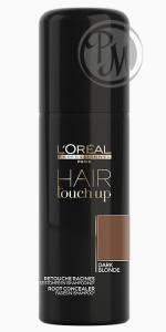 Loreal hair touch up консилер для волос dark blond темный блонд 75мл