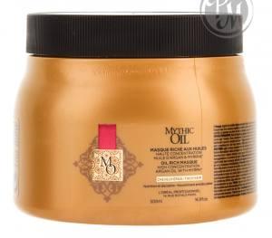 Loreal mythic oil маска для плотных волос 500мл габ