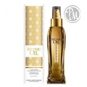 Loreal mythic oil huile original масло восстанавливающее питательное для тонких волос 100мл БС