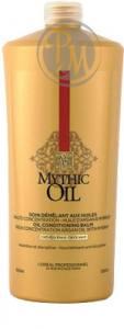 Loreal mythic oil кондиционер для плотных волос 1000мл