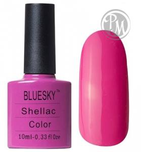 Bluesky shellac hot pop pink 10мл.
