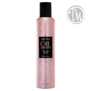 Matrix oil wonders volume rose мусс 250 мл
