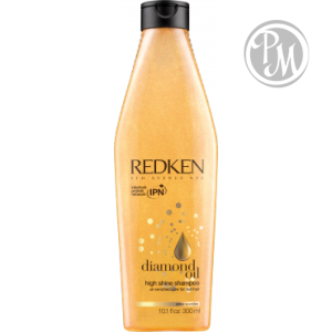 Redken diamond oil шампунь high shine 300 мл