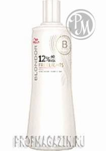 Wella blondor freelights окислитель 12% 1л*